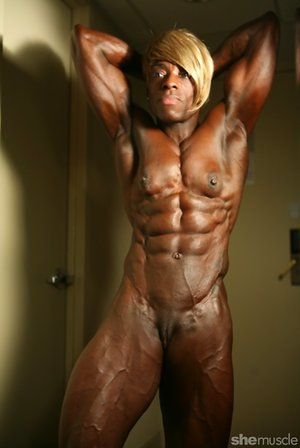 Bodybuilder Black Pictures